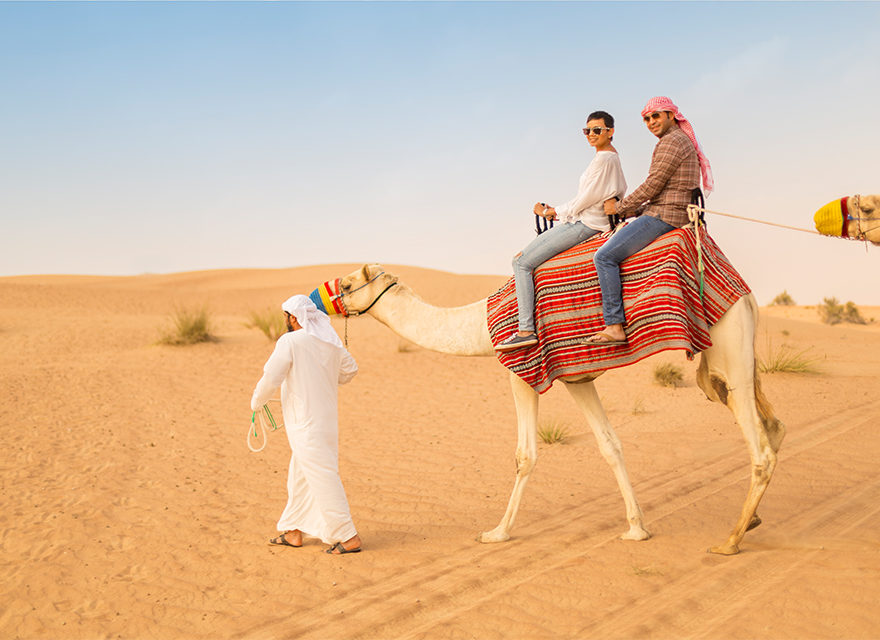 Witness the beautiful Arabic culture at Dubai desert safari.